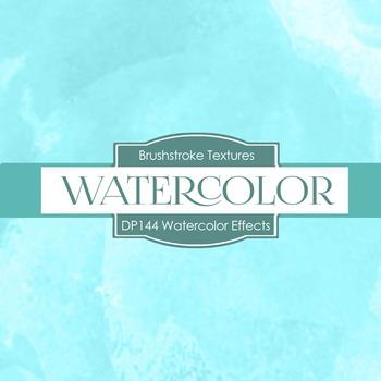 Digital Papers - Watercolor Effects (DP144)