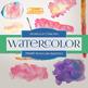 Digital Papers - Watercolor Splotches (DP6009)