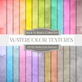 Digital Papers - Watercolor Textures (DP137)