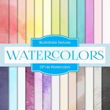 Digital Papers - Watercolors (DP146)