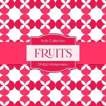 Digital Papers - Watermelon (DP4265)