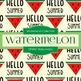 Digital Papers - Watermelon (DP4941)