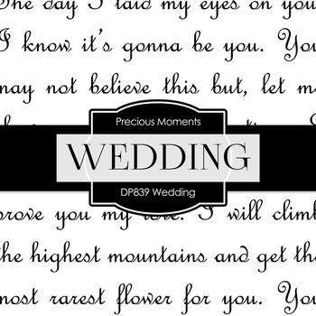 Digital Papers - Wedding (DP839)