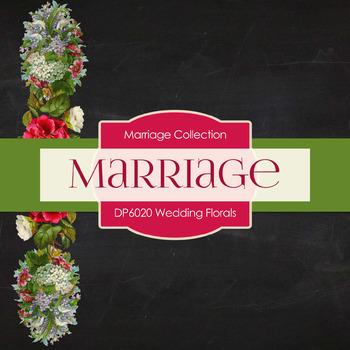 Digital Papers - Wedding Florals (DP6020)