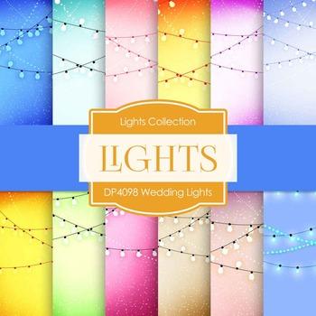 Digital Papers - Wedding Lights (DP4098)