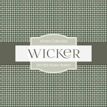 Digital Papers - Wicker Basket (DP2183)
