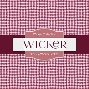 Digital Papers - Wicker Basket (DP2184)
