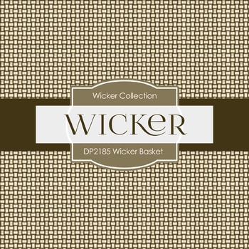 Digital Papers - Wicker Basket (DP2185)