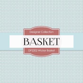 Digital Papers - Wicker Basket (DP2202)