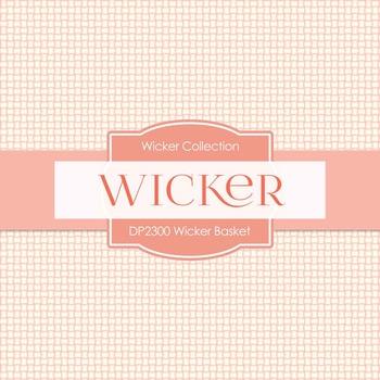 Digital Papers - Wicker Basket (DP2300)
