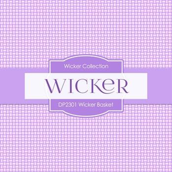 Digital Papers - Wicker Basket (DP2301)
