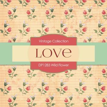 Digital Papers - Wild Flower (DP1283)