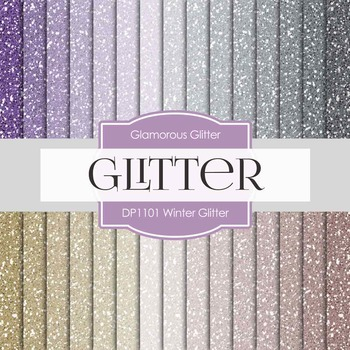 Digital Papers - Winter Glitter (DP1101)