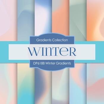 Digital Papers - Winter Gradients (DP6188)
