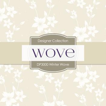 Digital Papers - Winter Wove (DP3000)