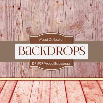 Digital Papers - Wood Backdrops (DP1937)