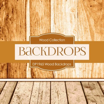 Digital Papers - Wood Backdrops (DP1965)