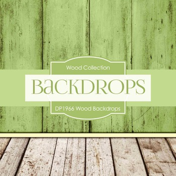 Digital Papers - Wood Backdrops (DP1966)