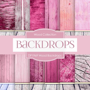 Digital Papers - Wood Backdrops (DP1969)
