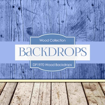Digital Papers - Wood Backdrops (DP1970)