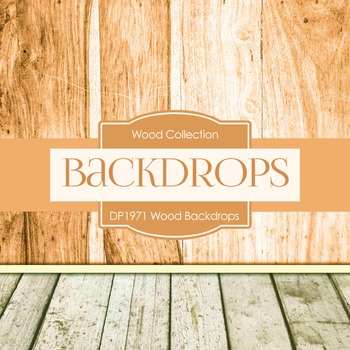 Digital Papers - Wood Backdrops (DP1971)
