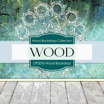 Digital Papers - Wood Backdrops (DP2076)