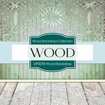 Digital Papers - Wood Backdrops (DP2078)