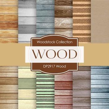 Digital Papers - Wood (DP2917)