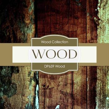 Digital Papers - Wood (DP659)