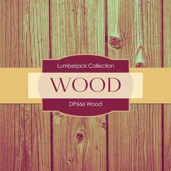 Digital Papers - Wood (DP666)