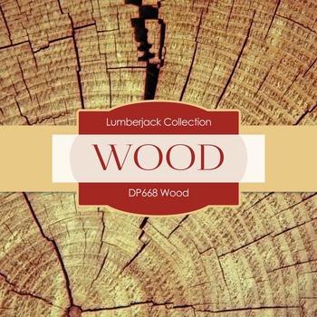Digital Papers - Wood (DP668)