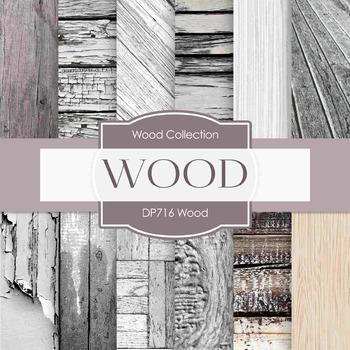 Digital Papers - Wood (DP716)