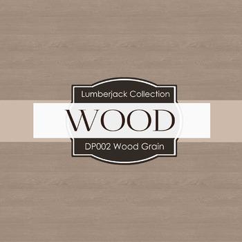 Digital Papers - Wood Grain (DP002)