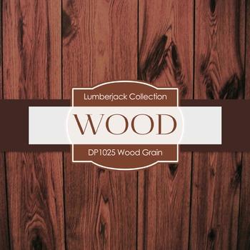 Digital Papers - Wood Grain (DP1025)