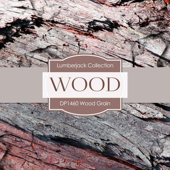 Digital Papers - Wood Grain (DP1460)