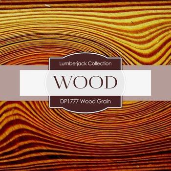 Digital Papers - Wood Grain (DP1777)