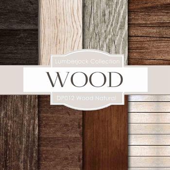 Digital Papers - Wood Natural (DP012)