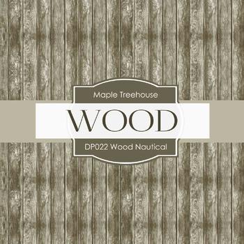 Digital Papers - Wood Nautical (DP022)
