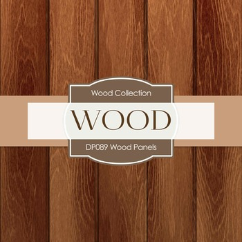 Digital Papers - Wood Panels (DP089)