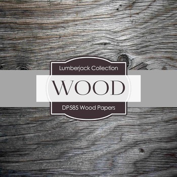 Digital Papers - Wood Papers  (DP585)
