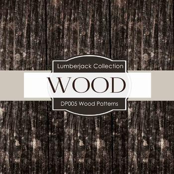 Digital Papers - Wood Patterns (DP005)