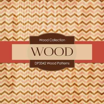 Digital Papers - Wood Patterns (DP3342)
