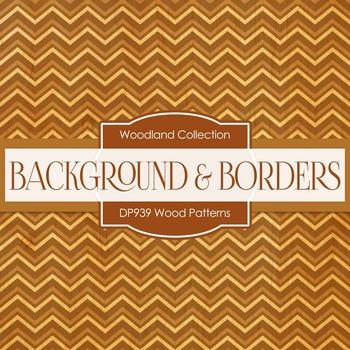 Digital Papers - Wood Patterns (DP939)