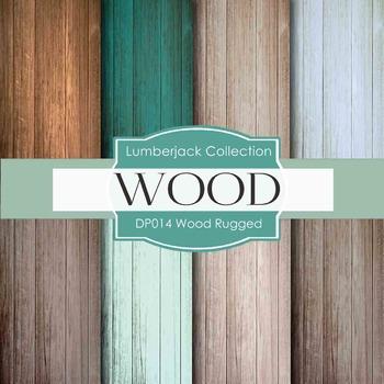 Digital Papers - Wood Rugged (DP014)