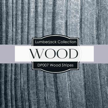 Digital Papers - Wood Stripes (DP007)