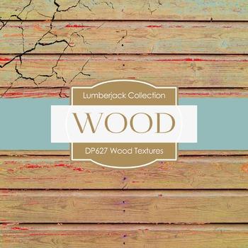 Digital Papers - Wood Textures B (DP627)