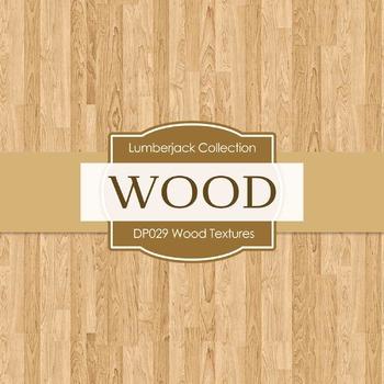 Digital Papers - Wood Textures (DP029)