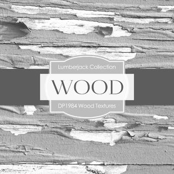 Digital Papers - Wood Textures (DP1984)