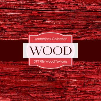 Digital Papers - Wood Textures (DP1986)