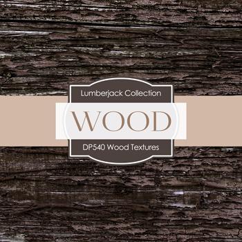 Digital Papers - Wood Textures (DP540)
